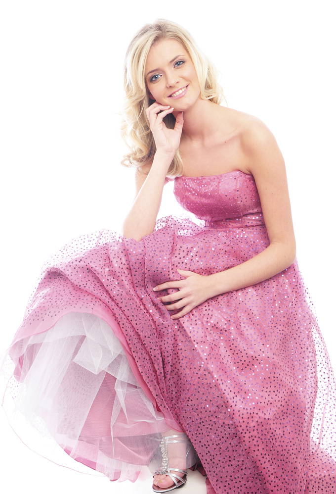 Guestlist Design style prom dress named Holly available now from Prom Perfect in colour Rose Pink
