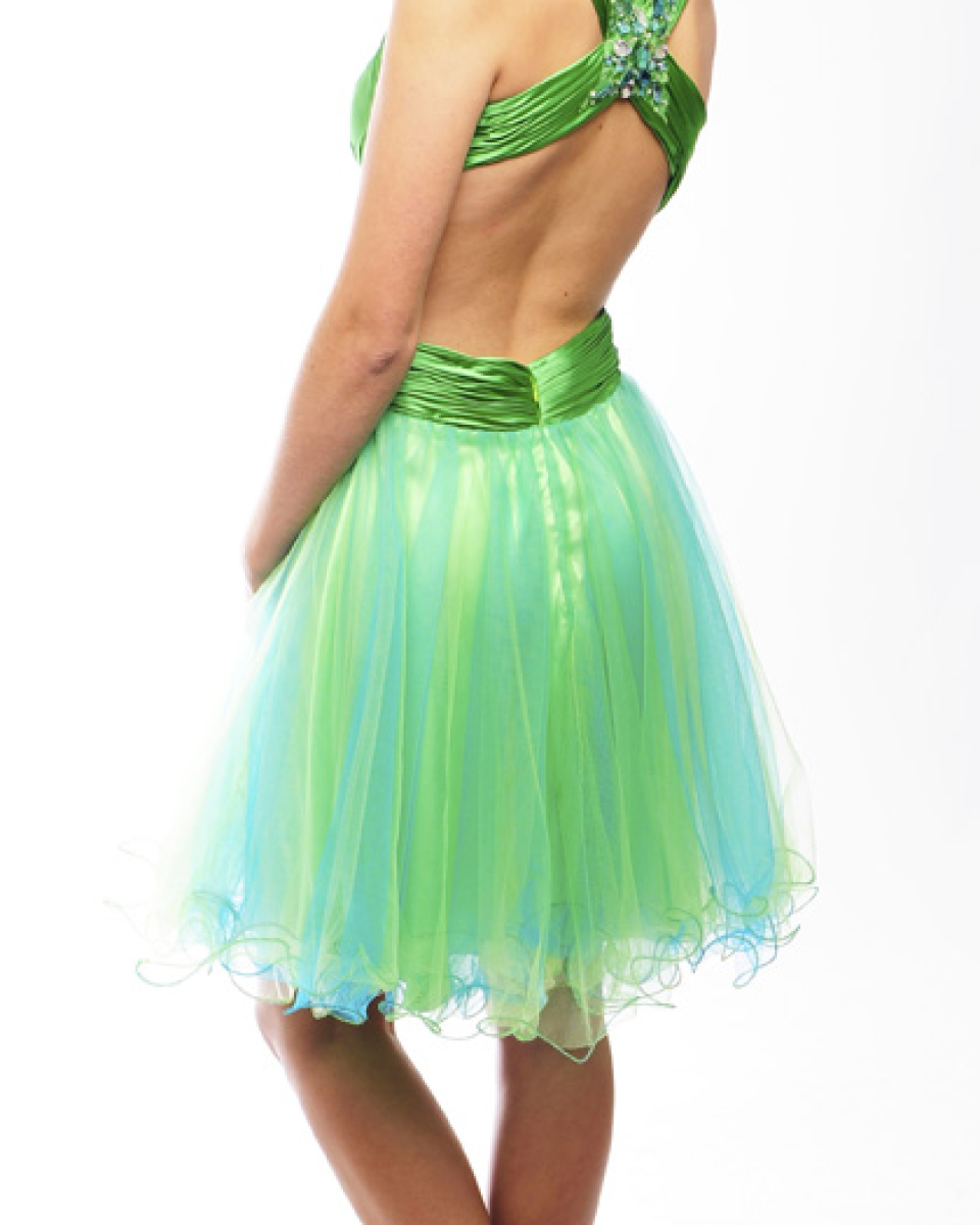 Guestlist Design prom dress cocktail style Issy available now from Prom Perfect